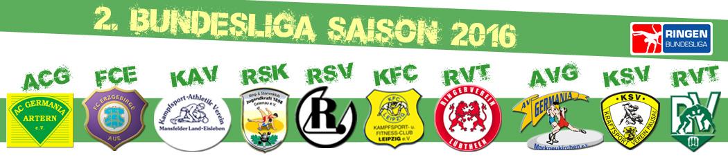 Ringen 2. Bundesliga Nord - Saison 2016